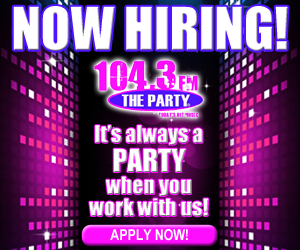 104.3 The Party Account Executive