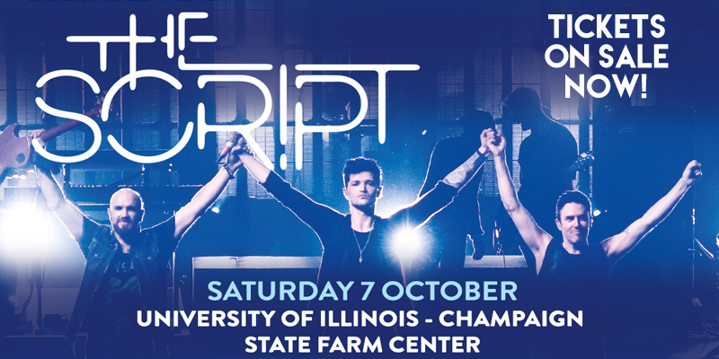 """""""The Script"""" to Perform in Champaign"""