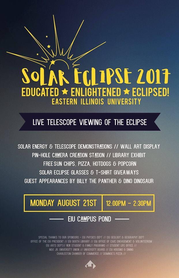 Great American Solar Eclipse at EIU