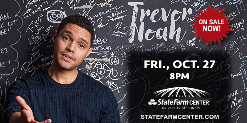 Trevor Noah to Perform in Champaign