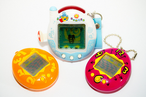 The Tamagotchi Virtual Pets Are Making a Comeback