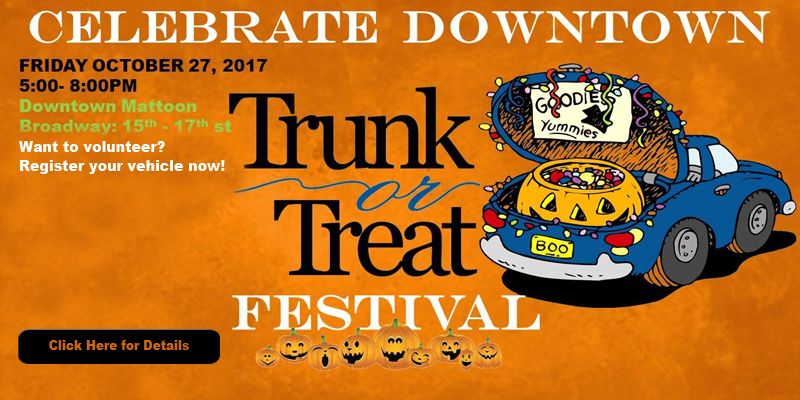 Downtown Mattoon Trunk or Treat Festival