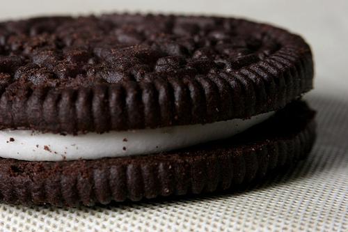 Oreo's New Peeps Flavor Uses Chocolate Cookies With Purple Cream