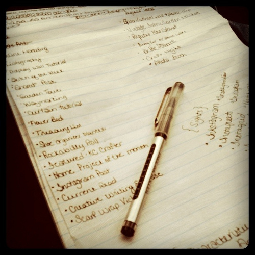 Want to Fall Asleep Faster? Try Writing a To-Do List Before Bed