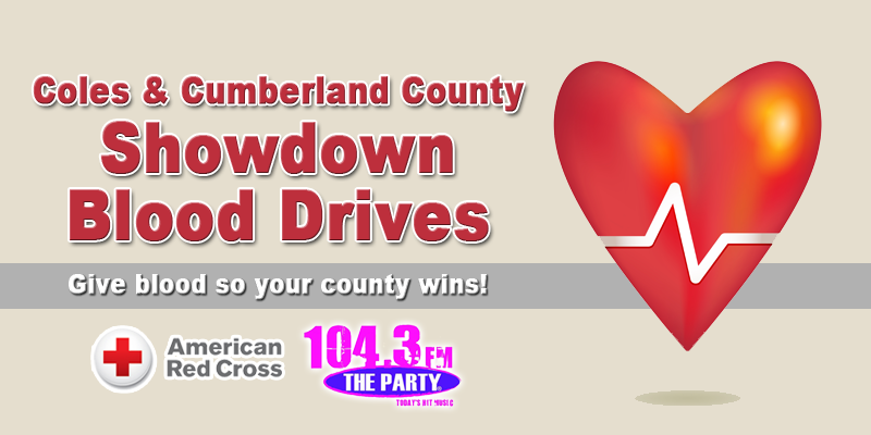 Coles & Cumberland County Showdown Blood Drives