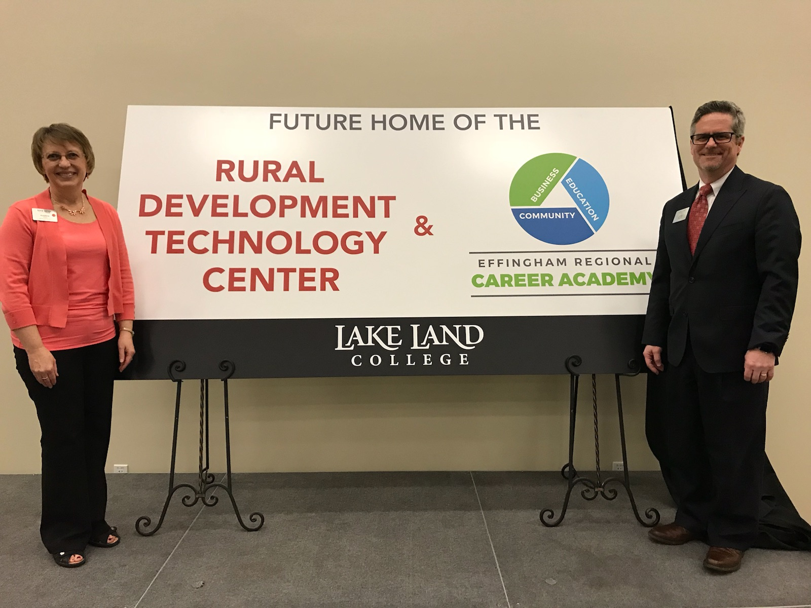 Lake Land College to fund construction for  Rural Development Technology Center in Effingham