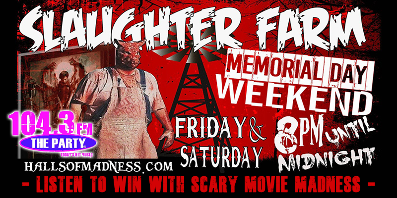 Scary Movie Madness - Ticket Giveaway