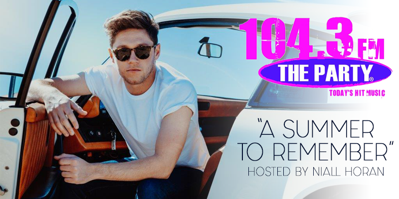 Feature: http://www.1043theparty.com/2018/05/18/a-summer-to-remember-hosted-by-niall-horan/