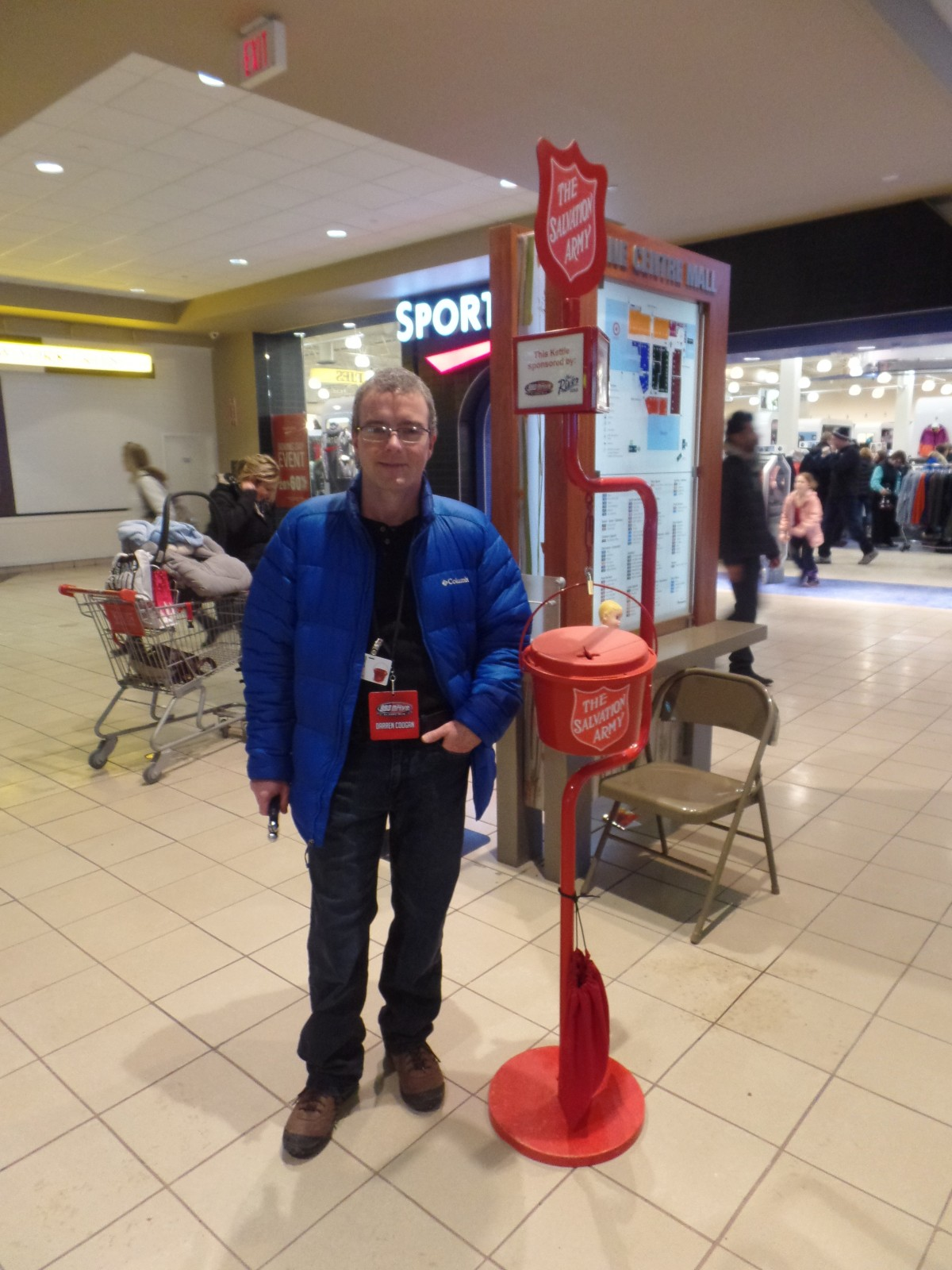 FunChaser @ Salvation Army Christmas Kettles