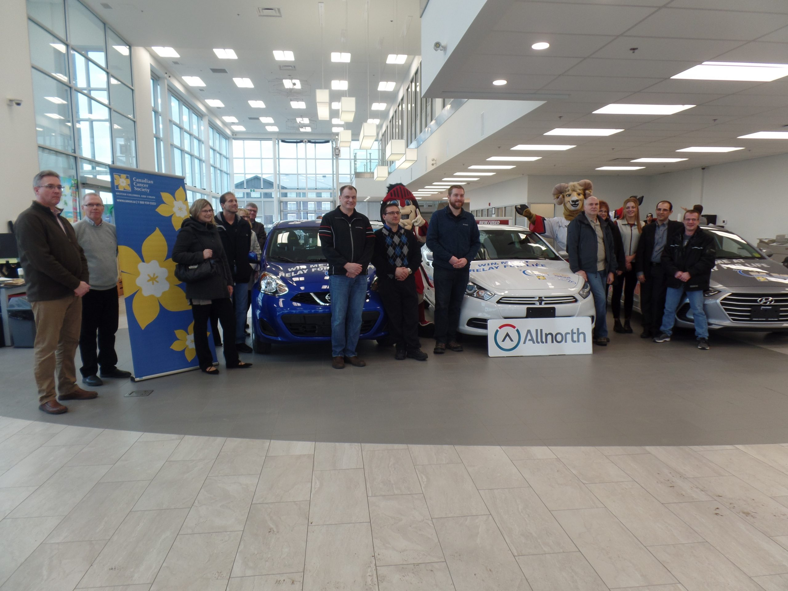 FunChaser @ Northland Chrysler Jeep Dodge Relay for Life Announcement