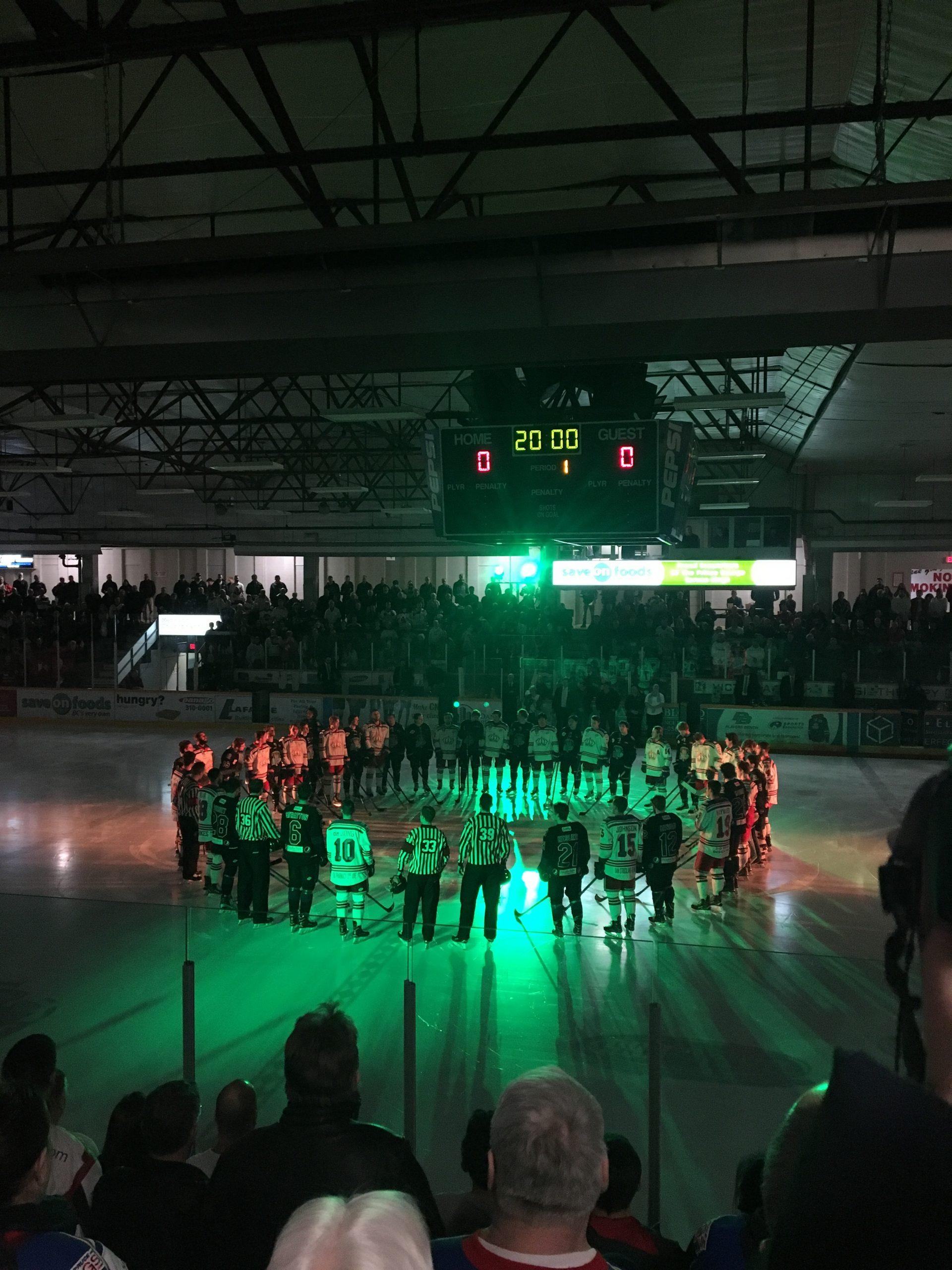 Championship Series GAME 3 Spruce Kings!