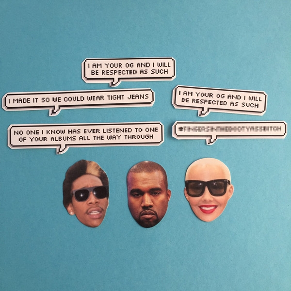 Etsy is on fire with with the Wiz K VS Kanye Feud