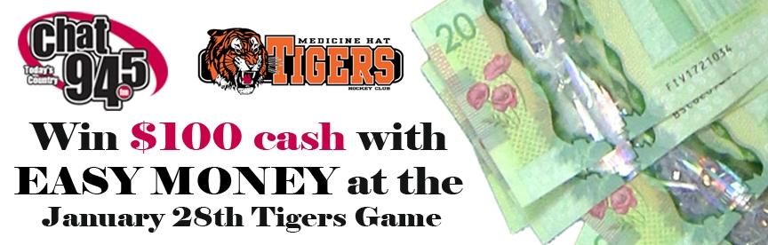 Medicine Hat Tigers Game Easy Money