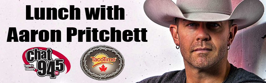Lunch with Aaron Pritchett
