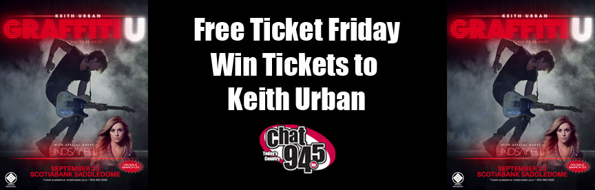 Free Ticket Friday Keith Urban