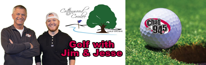 Golf with Jim and Jesse
