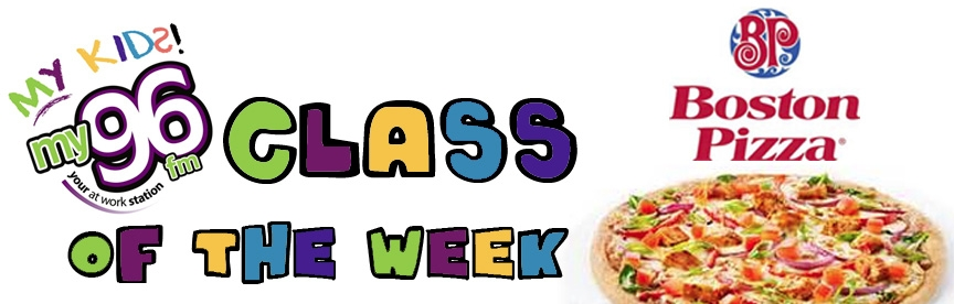 My Kids Class Of The Week