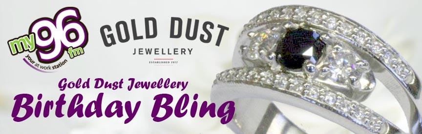 Gold Dust Jewellery Birthday Bling