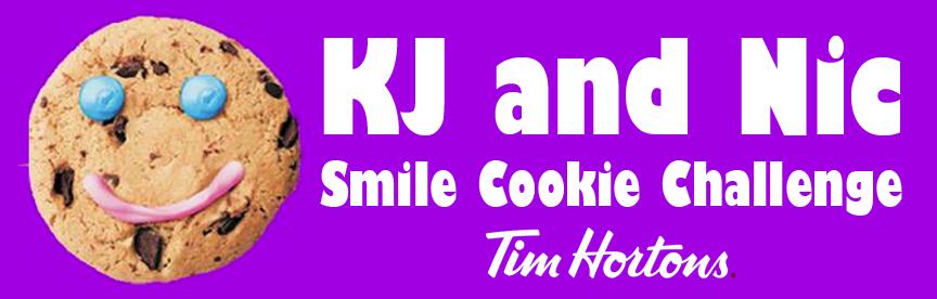 KJ and Nic Smile Cookie Day