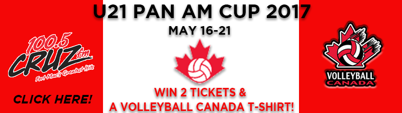 Tour the America's - Win U21 Men's Volleyball Pan Am Tickets