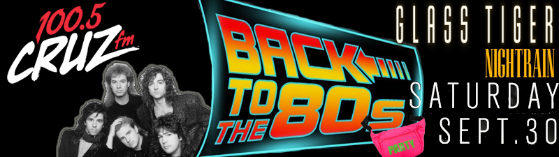 Win a VIP Table for 4 to the Back to the 80s Party!