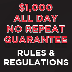 Guarantee Rules & Regs