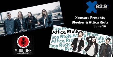 Xposure presents Bleeker and Attica Riots!