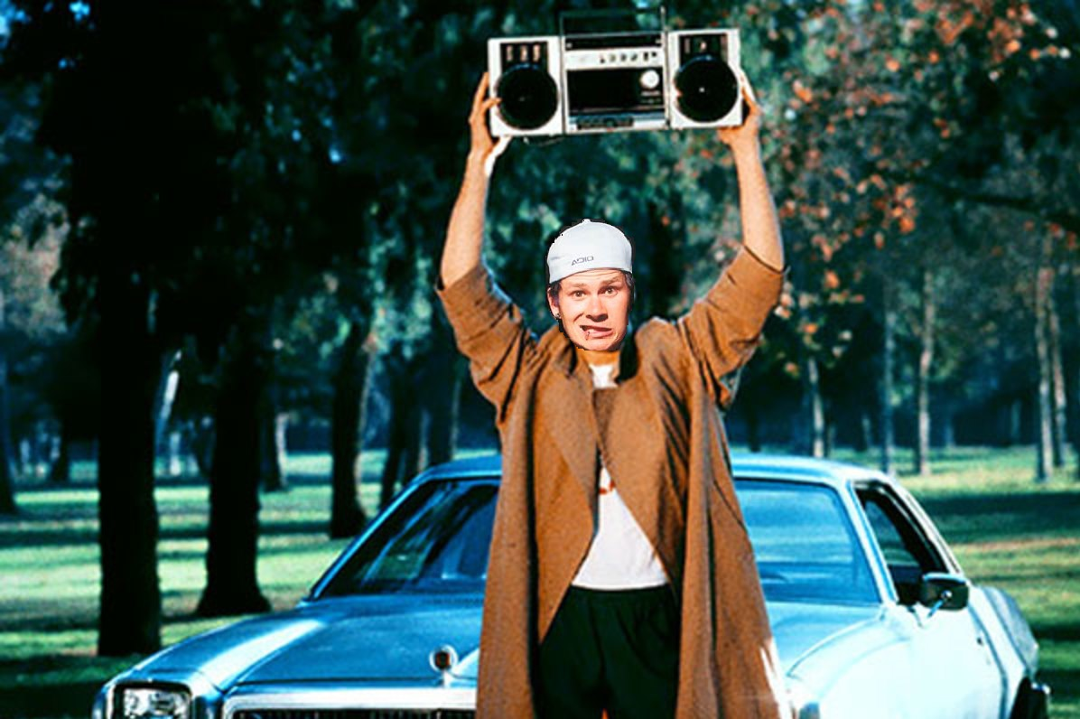 Tom Delonge Boom Box
