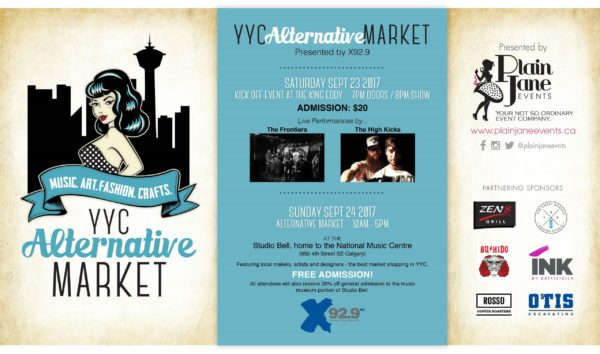 YYC Alternative Market- September 23 & 24