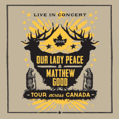 Our Lady Peace & Matthew Good- March 23