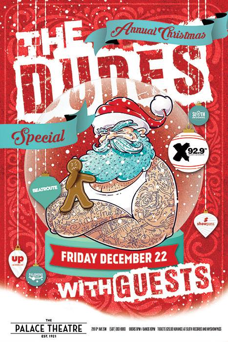 The Dudes Holiday Show- December 22