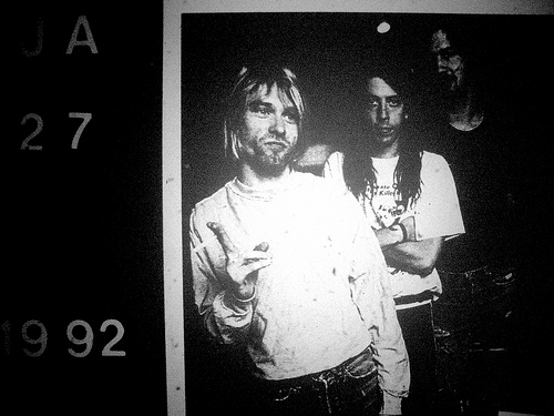 Rare Nirvana Demos have been surfacing over the past week...