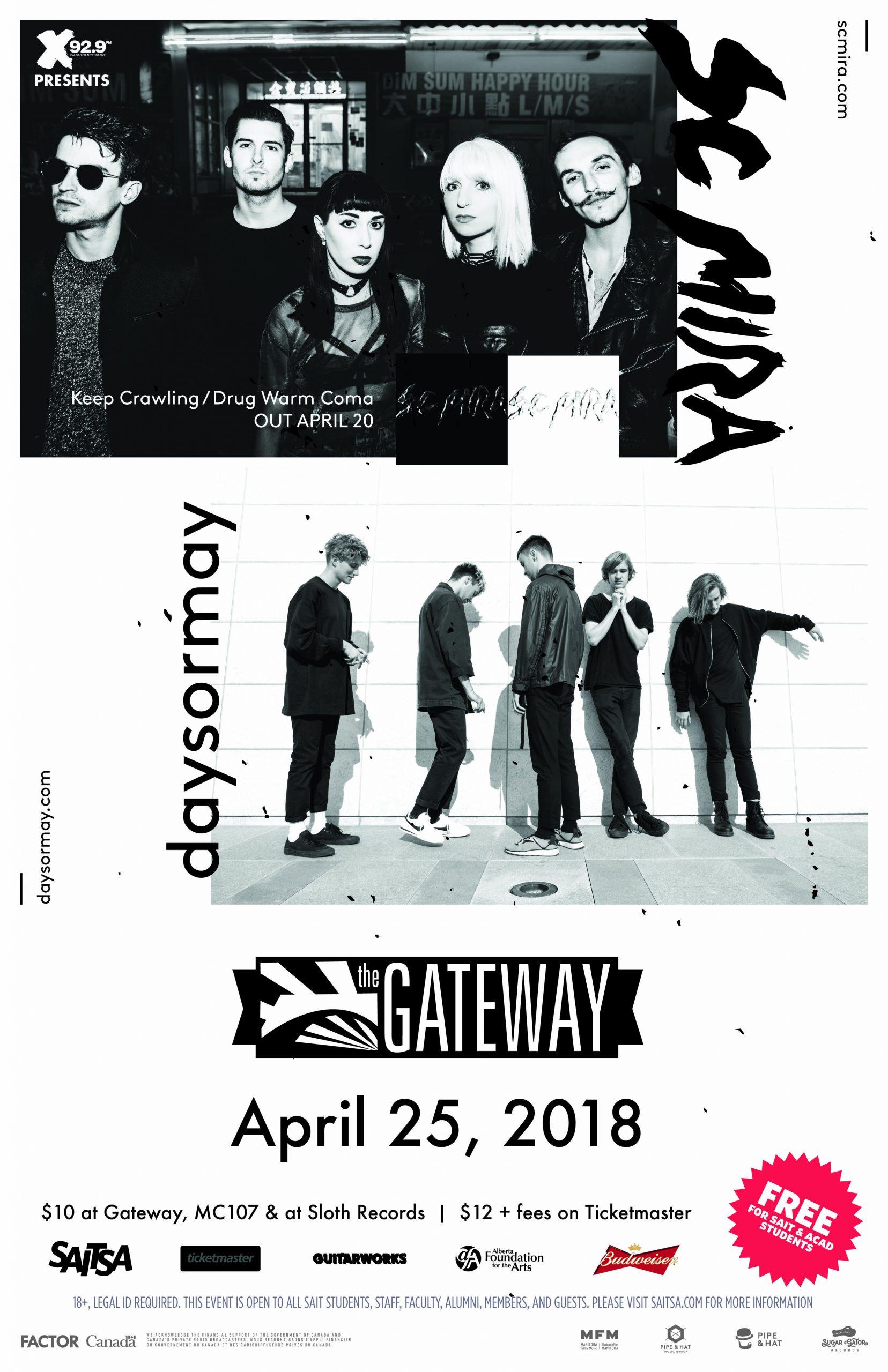 Daysormay Amp Sc Mira April 25 X92 9 Calgary S Alternative