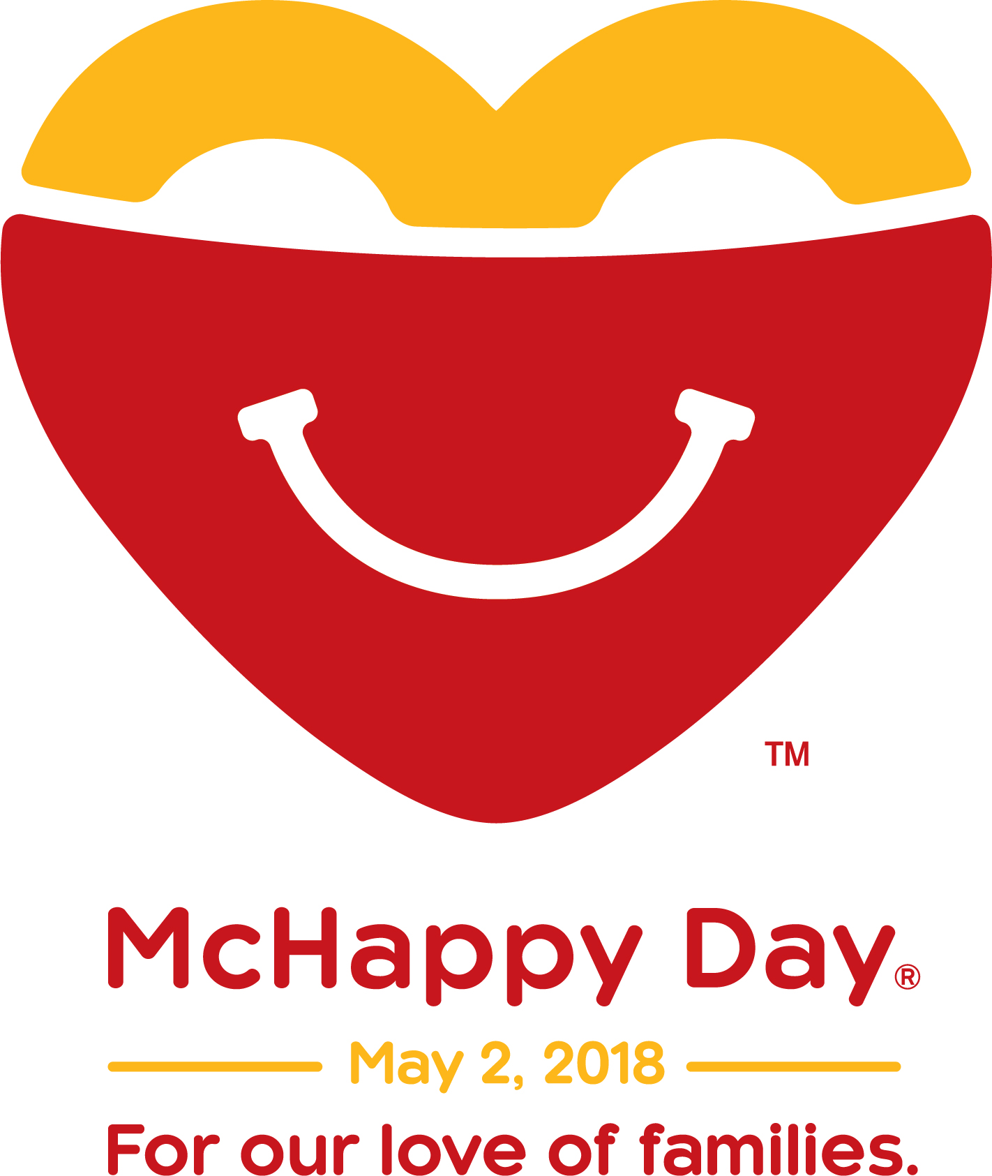 McHappy Day returns May 2nd