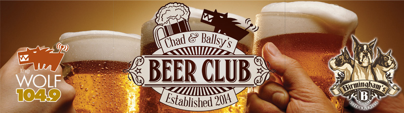 Feature: http://www.thewolfrocks.com/2016/10/03/chad-ballsys-beer-club/
