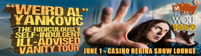Feature: https://tickets.casinoregina.com/shows/show.aspx?sh=SKGWEIRDAL