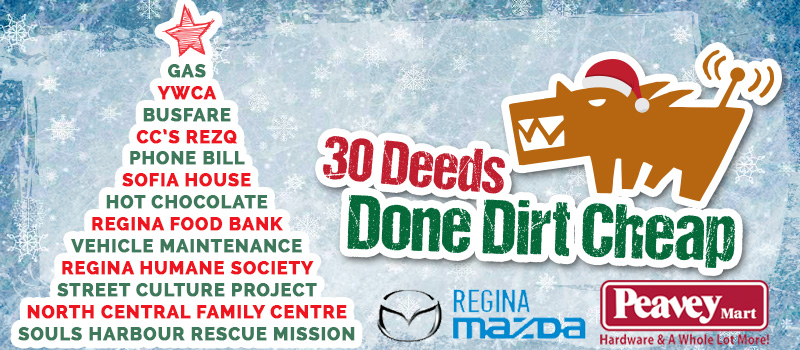 Day 3 of 30 Deeds Done Dirt Cheap