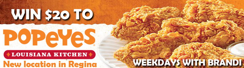 WIN a Gift Card to the NEW Popeyes in Regina