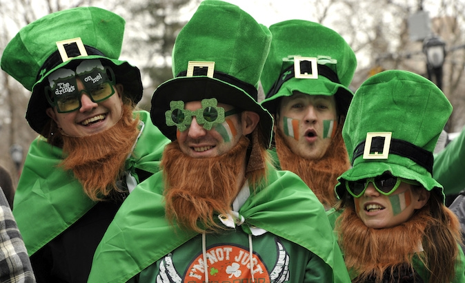 ST. PADDY'S DAY BY THE NUMBERS!