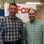 Jeff Bahrey with Investors Group dropped off a donation for $1,500 for FoxFMs Airwaves for Health Radiothon