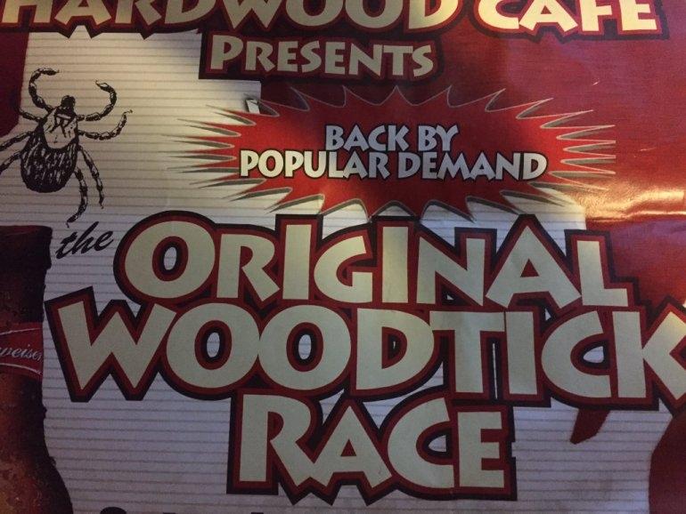 WOOD TICK RACING!