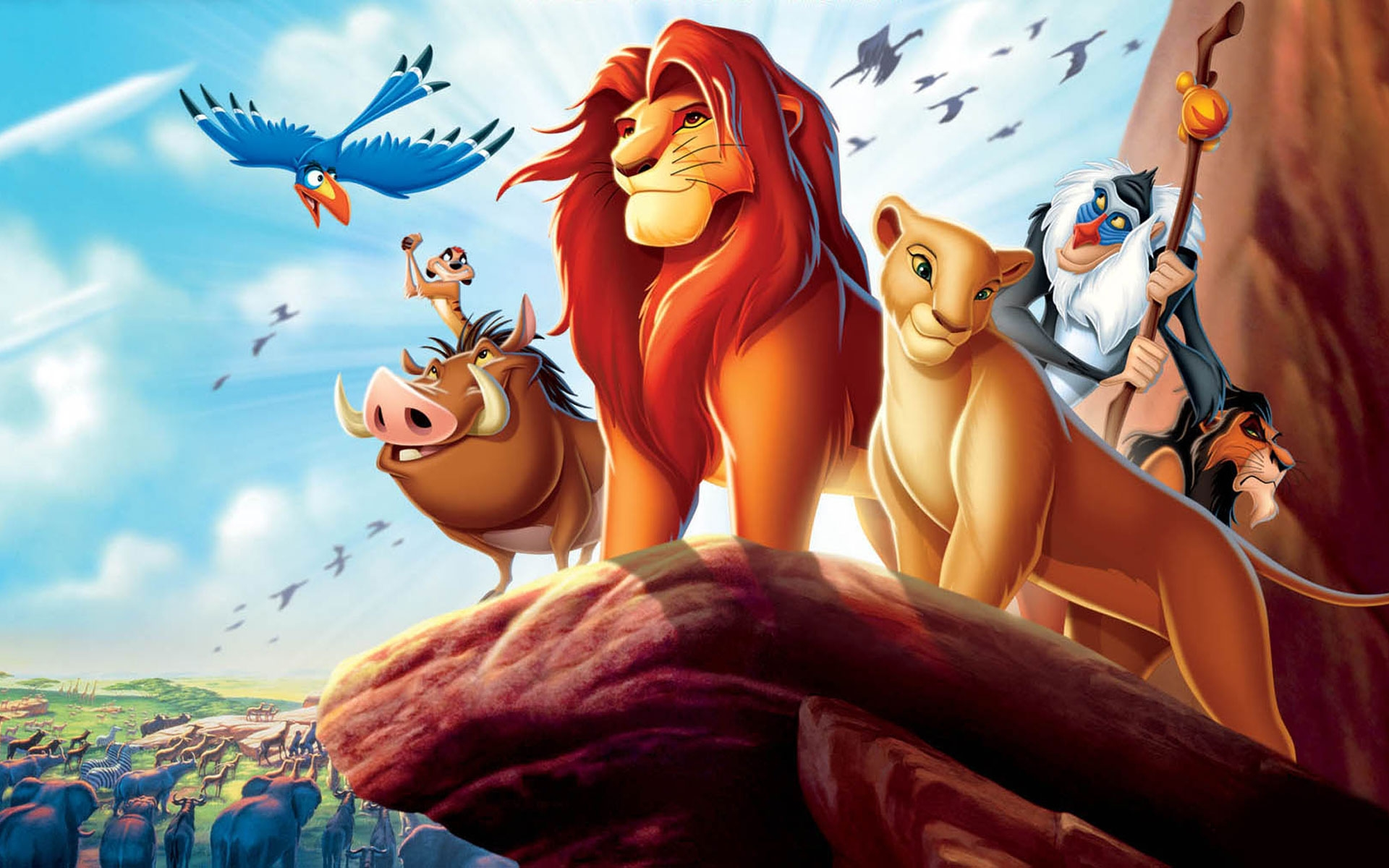 Disney Announces a Remake of 'The Lion King'!