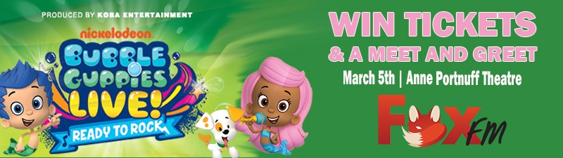Win tickets and a Meet & Greet to Bubble Guppies LIVE!