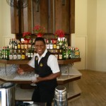 we had a blast with this bartender....very jovial