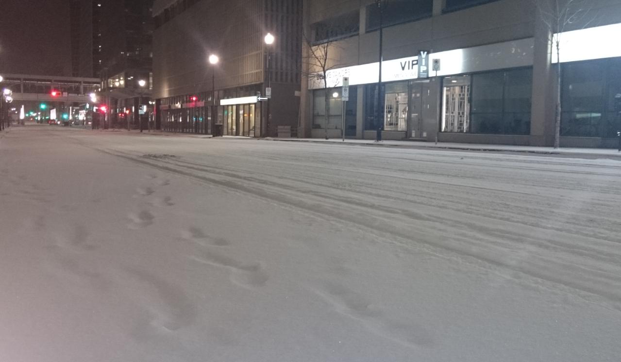 Light snow arrives in Regina overnight