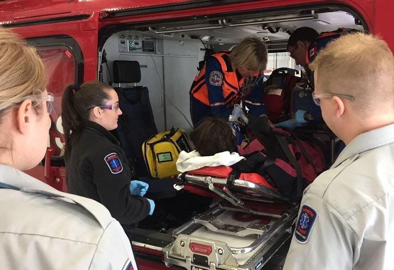 Paramedics host open house in Regina