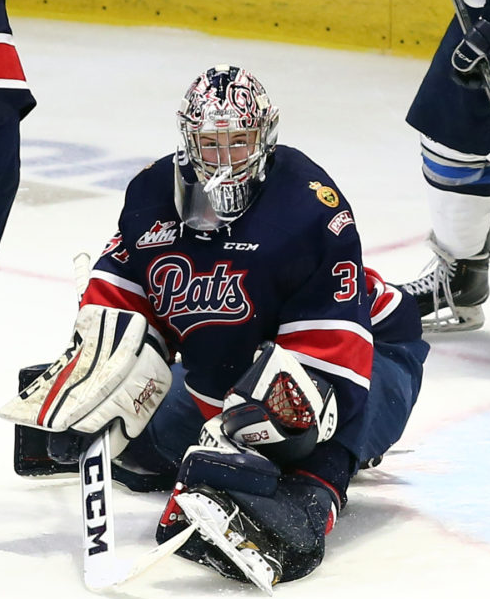 Pats G Tyler Brown named WHL goaltender of week