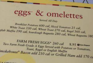 "Had to try the ""Farm Fresh"" Breakfast."