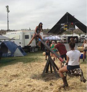 Quite the campsite!