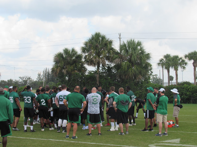 Riders Florida minicamp wraps up